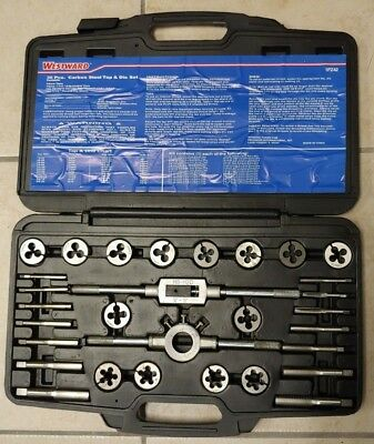 WESTWARD 1PZ41 Tap//Die Set,21 Pieces