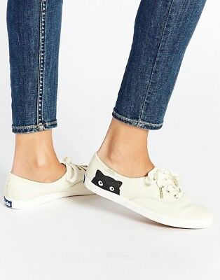 ea39621215658 TAYLOR SWIFT SNEAKY Cat Champion Keds 9.5  90 Limited Edition ...