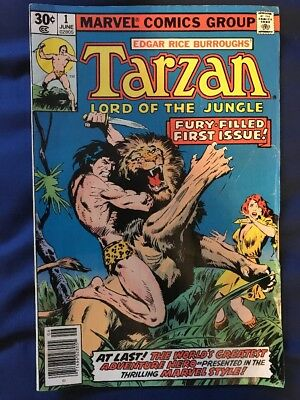 Tarzan Comic Books LOT OF 50+ (Marvel and DC) Rare Extensive Collection