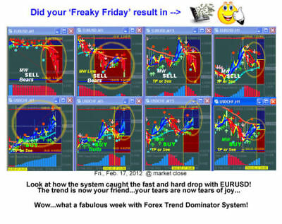 Forex Trend Dominator - Manual Forex Trading System - Mt4