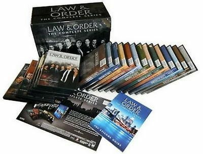 Law and Order: The Complete Series DVD 104-Disc Set, Seasons 1-20, FREE SHIPPING