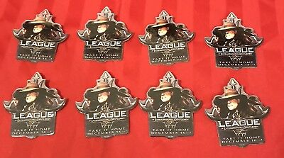 Lot Of 8 The League Of Extraordinary Gentlemen Movie Release Advertising Pin
