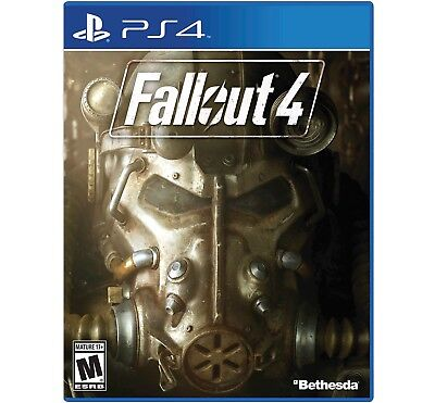 Brand New Sealed In Box Fallout 4 PS4 Videogame Bethesda