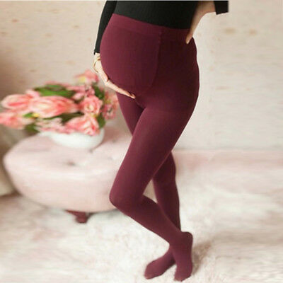 Pregnant Women Tights Maternity Pantyhose Closed Toe Thin Stockings Socks Pants