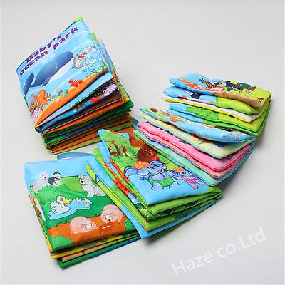 Intelligence development Cloth Bed Cognize Book Educational Cartoon Toy