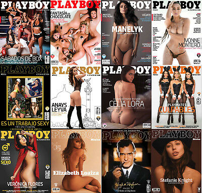 Playboy Mexico 2017 Complete Full Year HOT & SEXY! Lot of 12 Issues