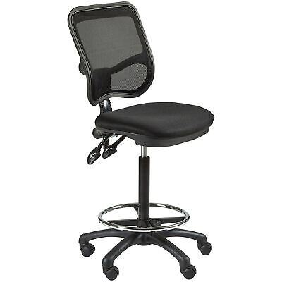NEW Mesh Back Drafting Chair - Milan Direct,Office Chairs