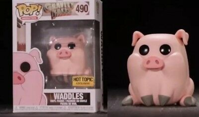 Funko Pop Animation #490 Waddles Disney Gravity Falls Hot Topic Excl PreOrder