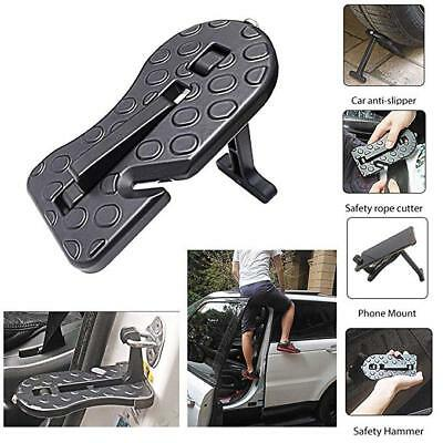 Folding Car Door Latch Hook Step Foot Pedal Ladder for Jeep SUV Truck Roof Mini