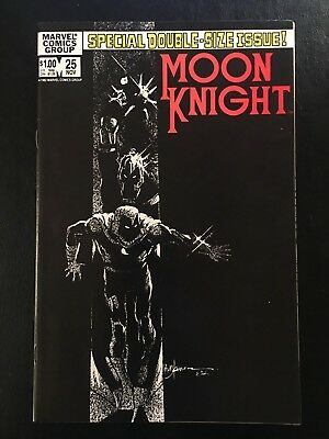 Moon Knight #25 (Marvel 1982) NM- 9.2 1st Appearance Black Spectre WOW!