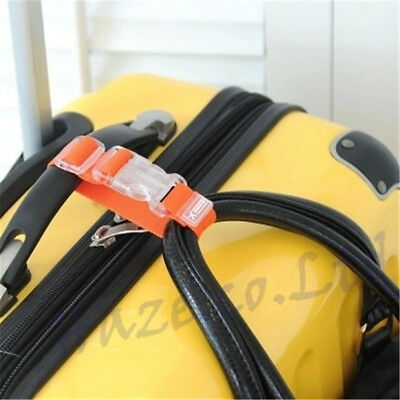 Adjustable Travel Luggage Suitcase Buckle Tie Down Strap Packing Belt Band MNP