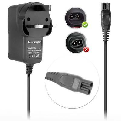 15V 1A Shaver Power Supply Plug Charger For Philips Wet Dry Universal HQ8505