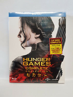 Hunger Games Complete Collection - Cofanetto Blu Ray