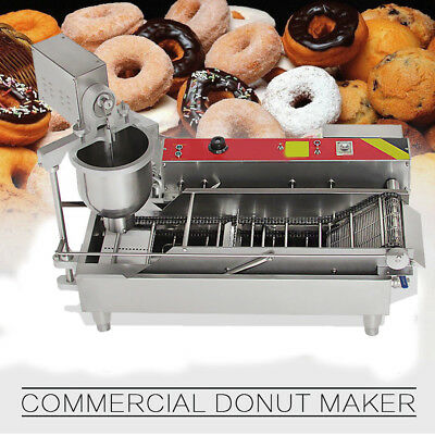 Popular Commercial Auto Donut Maker Making Machine Stainless Steel+3*size Mold