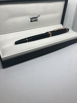 Brand New Montblanc Meisterstueck LeGrand Red Gold-Coated Rollerball Pen 112672