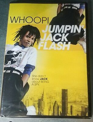 Jumpin Jack Flash (DVD, 2013) Brand New! Factory sealed!