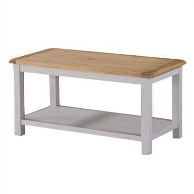 Kilmore Painted Coffee Table - Grey Living Room Table - Large Side Table