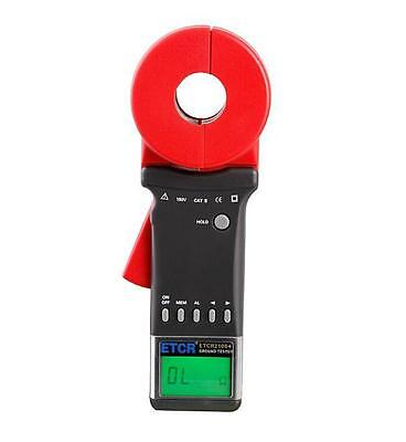 ETCR2100A+ Digital Clamp On Ground Earth Resistance Tester Meter