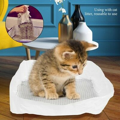 10Pcs Cat Litter Box Tray Liners Pet Wast Bag Good Expansibility In Hygienic Way