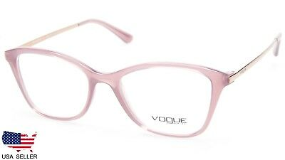 743ccc4a679 NEW Vogue VO 5152 2535 OPAL PINK TRANSPARENT EYEGLASSES GLASSES 50-17-140  B38mm