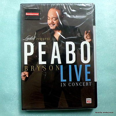 Peabo Bryson Live in Concert: Ladies Request US DVD NEW 2005 Soul A Whole World