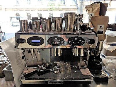 ExpoBar 2 High Group Commercial Multiboiler Espresso Machine