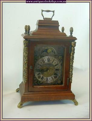 Lovely Dutch Bracket Clock Part Of Huge Clock Collection Of 40 Year 120+ Clocks