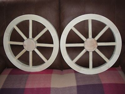 """Popular 2 Wagon Wheels 18"""" Hobbies For Carts, Projects.best Seller."""