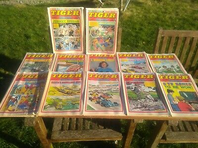 53 x 1977 TIGER & SCORCHER COMICS - Complete Year
