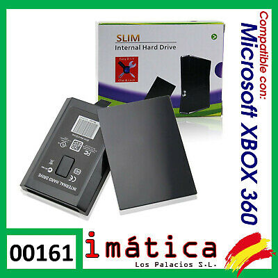 Carcasa Para Disco Duro Xbox 360 Slim X-Box Caddy Hd Hard Disk De Repuesto