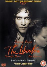 The Libertine (DVD, 2006) Johnny Depp goes from bed to verse                  H3