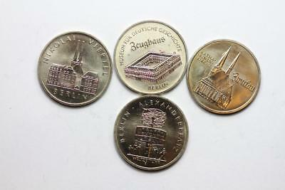 East Germany - Lot of 4 coins - uncirculated