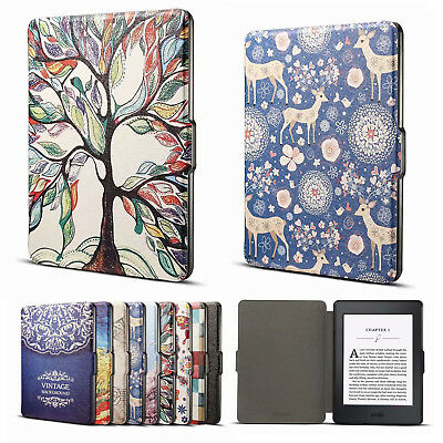 for Amazon Kindle Paperwhite 6'' 1 2 3 Slim Magnetic Leather Smart Case Cover