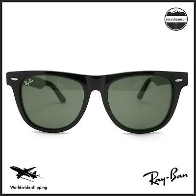 19d41221ba RAY BAN WAYFARER RB2140 956 White   Black 54mm G-15 Green Lens ...