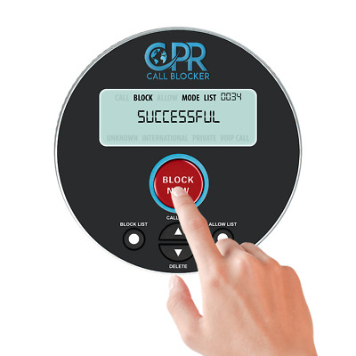 CPR Call Blocker V10000 Block All Nuisance, Unwanted PPI Calls, Scam Calls