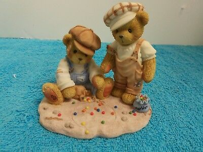 Cherished Teddies Vince & Connor~Shooting for Keeps