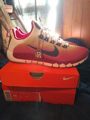 release date ac114 d3a27 Nike Free Trainer 5.0 NRG Jerry Rice HOF San Francisco 49ers Size 10.  644682-