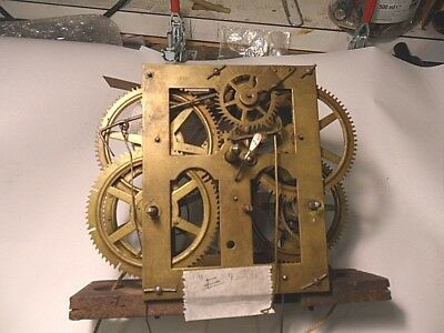 Vintage American Clock Movement (Item E)