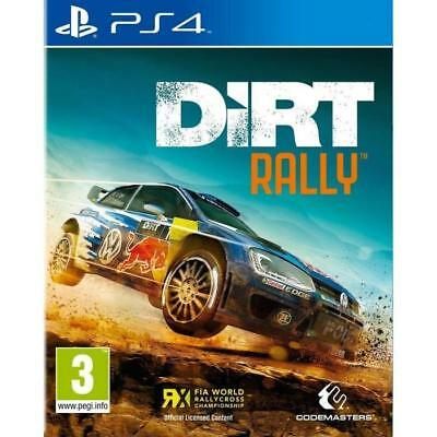 Dirt Rally - PS4 IMPORT neuf sous blister