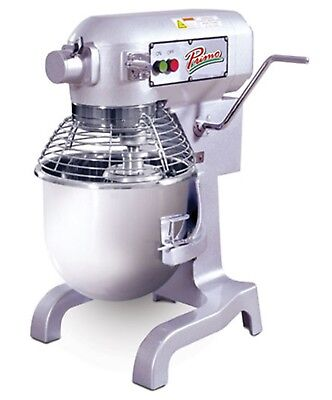 Primo PM-20 Planetary Meat Mixer 20 qt. Capacity Bench Model Gear Driven