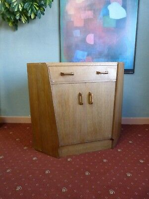 Vintage oak G Plan E Gomme corner desk cabinet for refurb