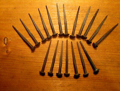 "Lot of 20 Vintage Style Rose Head Nails Vintage Rustic 2"" Nail"