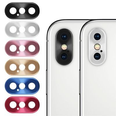 iPhone X Xs Xr MAX Camera Protector Rear Cover Metal Lens Ring Phone Accesory