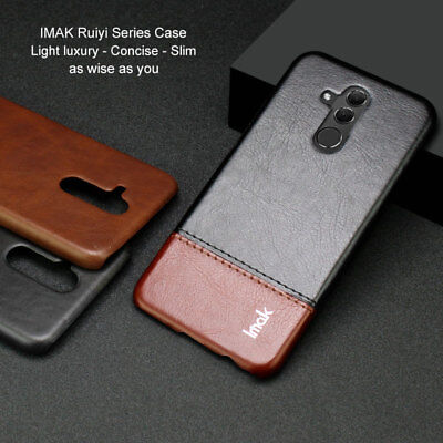 Imak Luxury Shockproof ClassicConcise Leather Case For Huawei Mate 20 Lite Cover