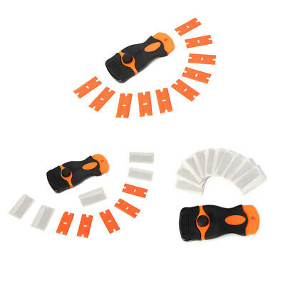 1 Set Scraper with Double Edged Razor Blades for Removing Glue Plastic Tools YU