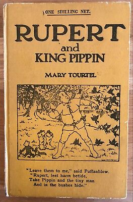 Mary Tourtel Rupert & KING PIPPIN Little Bear Library No 12 1930's VG