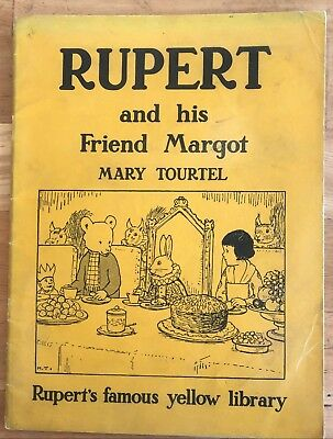 Mary Tourtel Rupert The Knight & the Lady & Rupert & his Friend Margot 1949