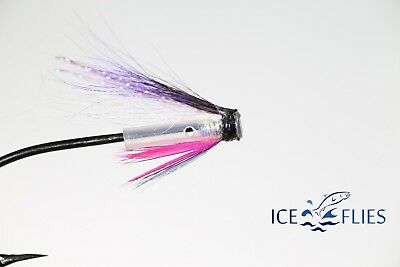 Blue Charm. Pick a size Salmon Fly 3-pack Riffle hitch Fly Fishing Fly