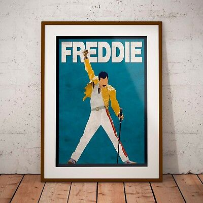 Freddie Mercury The Pose Queen Three Print Option or Framed Print or Poster NEW