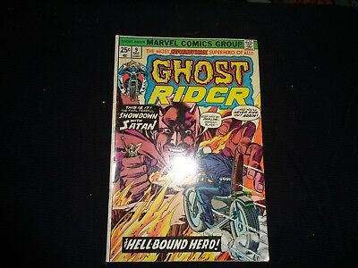 GHOST RIDER # 9 1974 First Issue Collectors Key Issue Marvel Comics-LOOKLOOK
